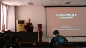 Lectures by Prof. Liritzis on the cutting edge of scientific archaeology at Henan University