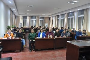 Visiting lecture of Professor Ioannis Liritzis at Henan University