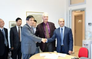 Agreement of cooperation signed between the University of the Aegean and Henan University