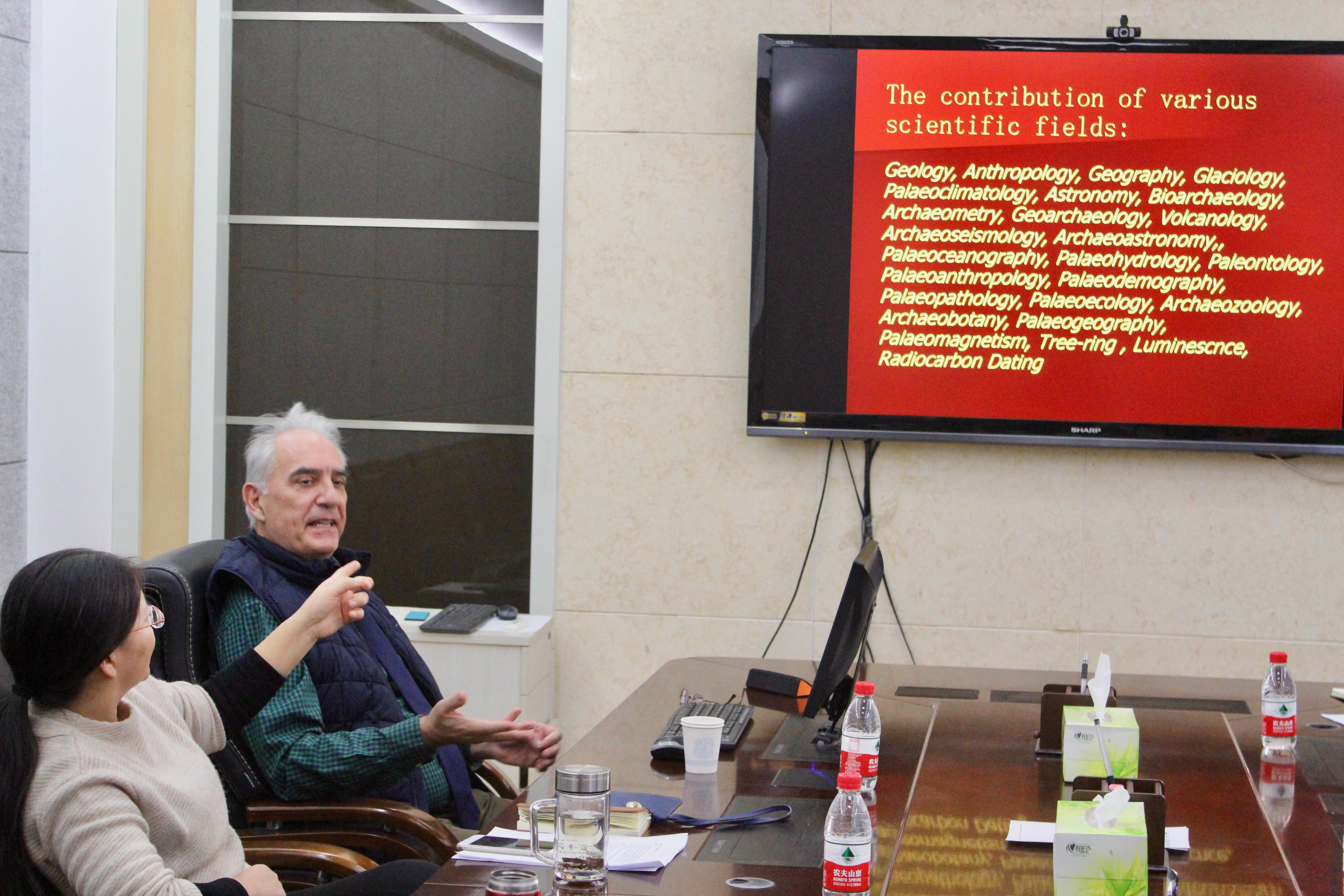 Intensive course on novel approaches to archaeological science by Prof. Liritzis